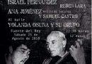 """Israel Fernández y Pedro """"El Granaíno"""" encabezan el XXXVI Festival de Flamenco"""