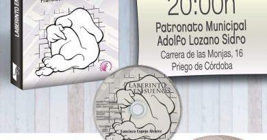"""El escritor Francisco Espejo presenta hoy su último libro, """"Laberinto en sueños"""""""