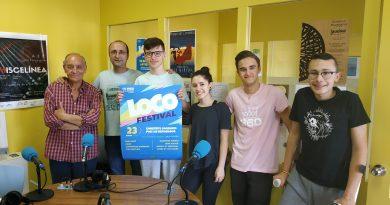 """Ocho artistas tomarán parten en el """"Loco Festival"""" que se celebrará mañana"""