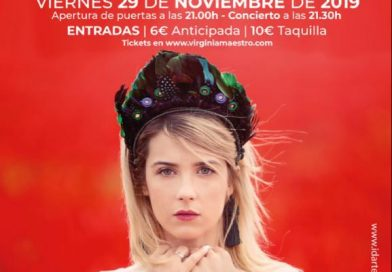 """La cantante Virginia Maestro presenta el viernes en Priego su último trabajo """"Del sur"""""""