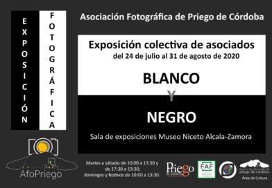 """Afopriego organiza la exposición de temática libre  """"Blanco y Negro"""""""