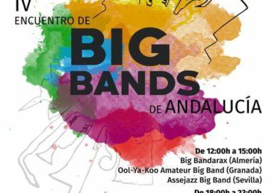 Seis agrupaciones toman parte en el IV encuentro de Big Bands de Andalucía que se celebra este sábado